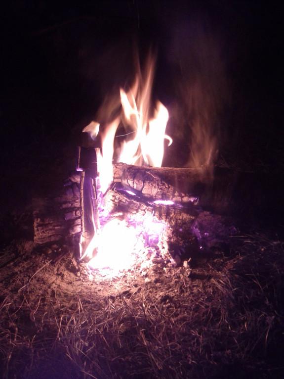 Mein ganz persönliches Fire auf dem Finki